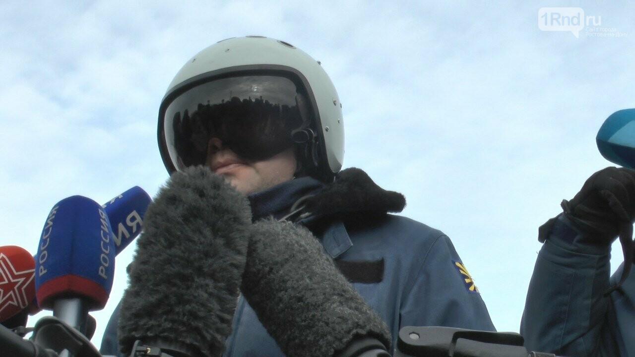 Видео из кабины пилота: как истребители садились на ростовскую трассу, фото-16