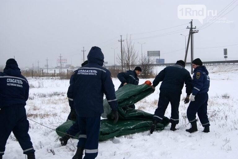 На дорогах Ростовской области развернули пункты обогрева для водителей, фото-3