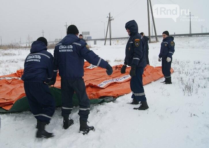На дорогах Ростовской области развернули пункты обогрева для водителей, фото-2