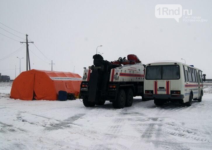 На дорогах Ростовской области развернули пункты обогрева для водителей, фото-1