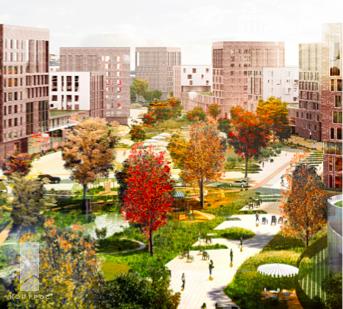 Район на 140 тысяч жителей начнут строить на месте аэропорта Ростова в 2019 году, фото-1