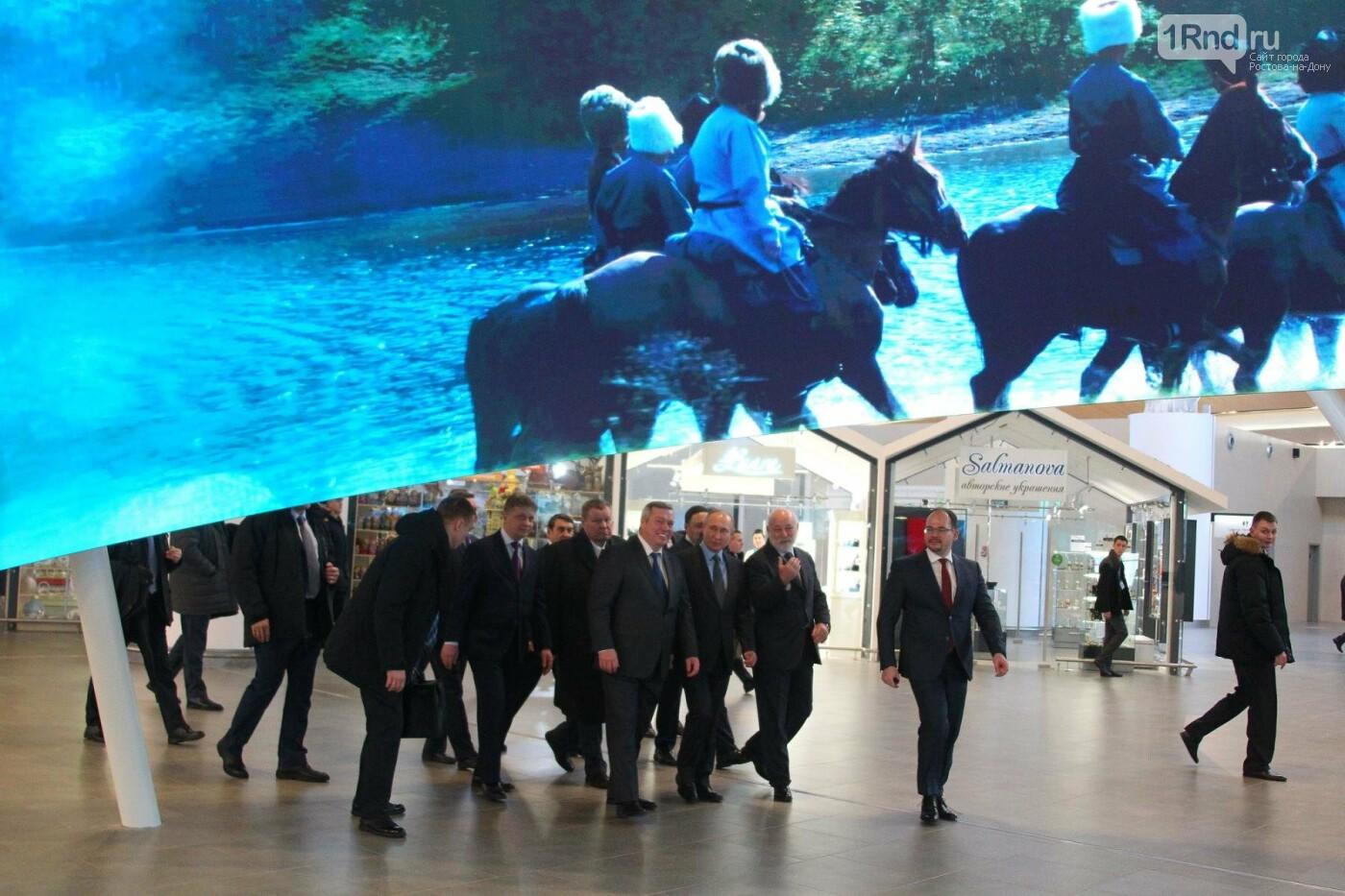 Владимир Путин в Ростове-на-Дону: лучшие кадры президентского визита, фото-1