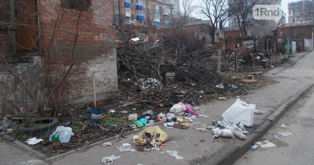 Дома погорельцев обрастают грязью и становятся опасными для ростовчан , фото-4