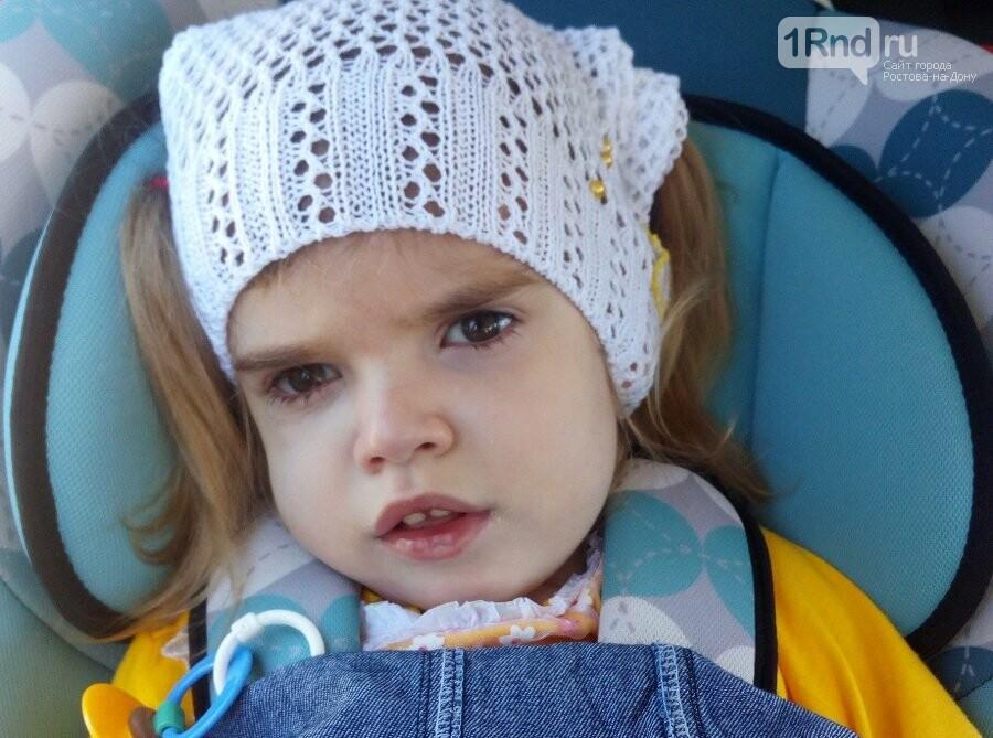 Дорогостоящее лечение поможет маленькой батайчанке начать ходить и говорить , фото-1