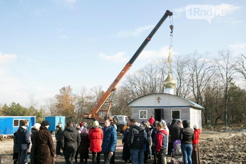 Ростовские чиновники назвали незаконным строительство храма в парке Собино, фото-5