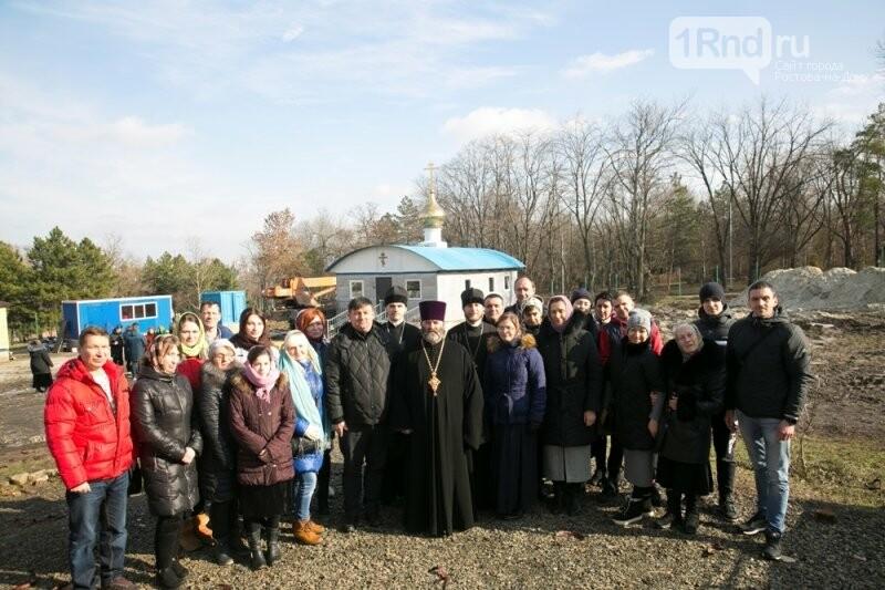 Ростовские чиновники назвали незаконным строительство храма в парке Собино, фото-4