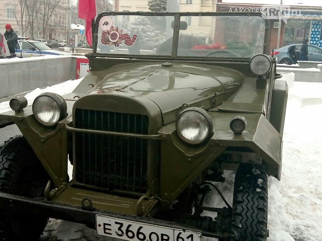 День освобождения Ростова начали с песен военных лет и солдатской каши, фото-9, Фото: Сабина Бондарь / 1rnd.ru