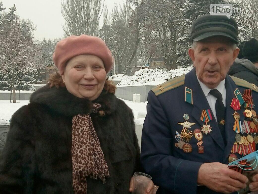 День освобождения Ростова начали с песен военных лет и солдатской каши, фото-8, Фото: Сабина Бондарь / 1rnd.ru