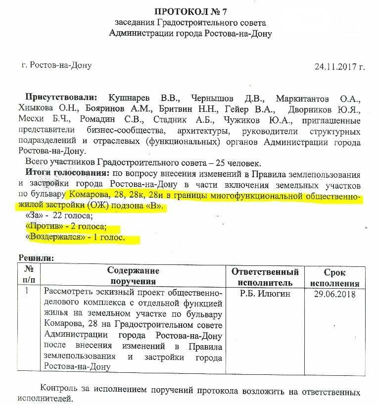 Скандал с застройкой бульвара Комарова в Ростове вышел на новый уровень, фото-5
