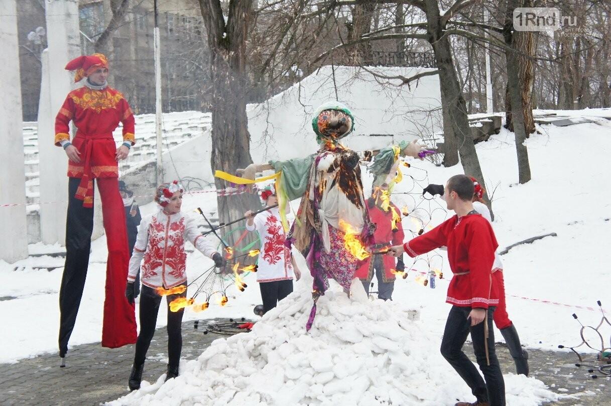 Ростовчане с размахом отметили Добрую Масленицу и проводили зиму, фото-30