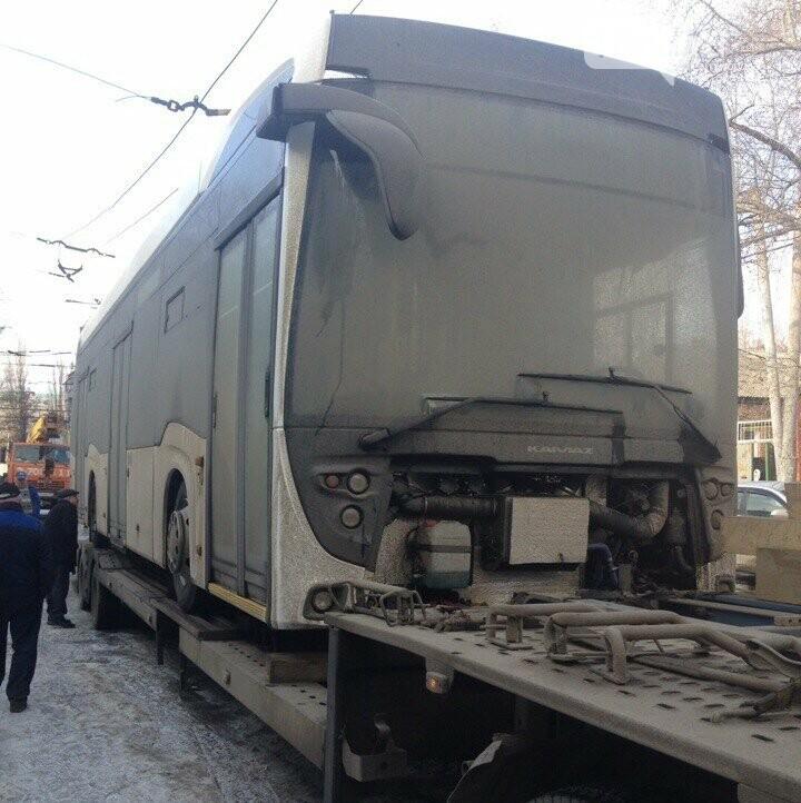 Первый электробус прибыл на испытания в Ростов-на-Дону, фото-1