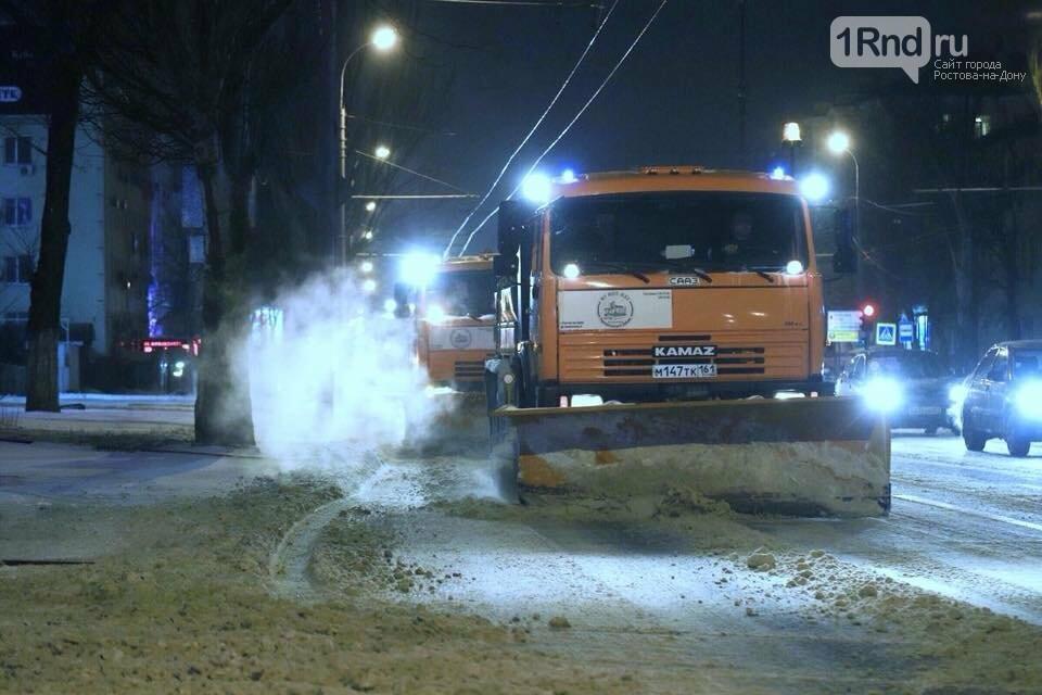 Шесть тысяч тонн снега вывезли с ростовских улиц - мэрия, фото-1