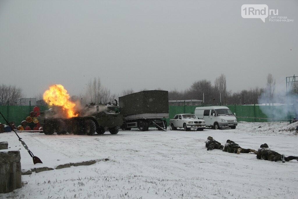 Взрывы,танки, автоматы: в Ростове спецназовцы отметили 27 годовщину ярким шоу, фото-7