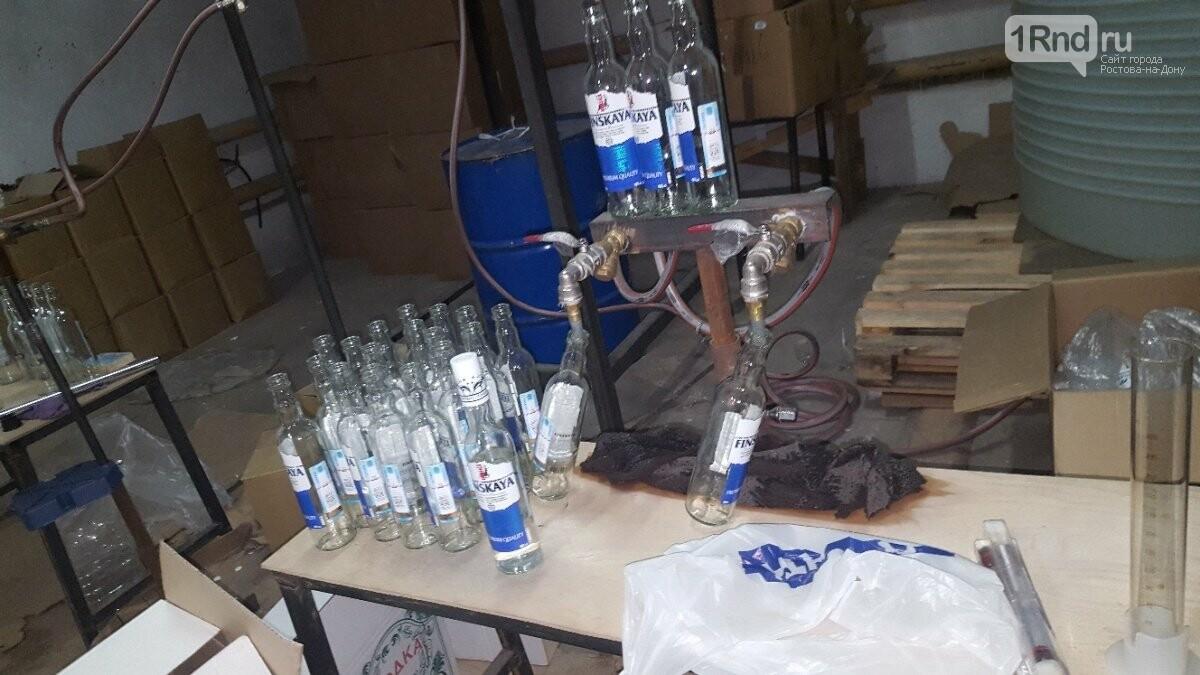 Ростовские полицейские «накрыли» цех фальсифицированного алкоголя , фото-1