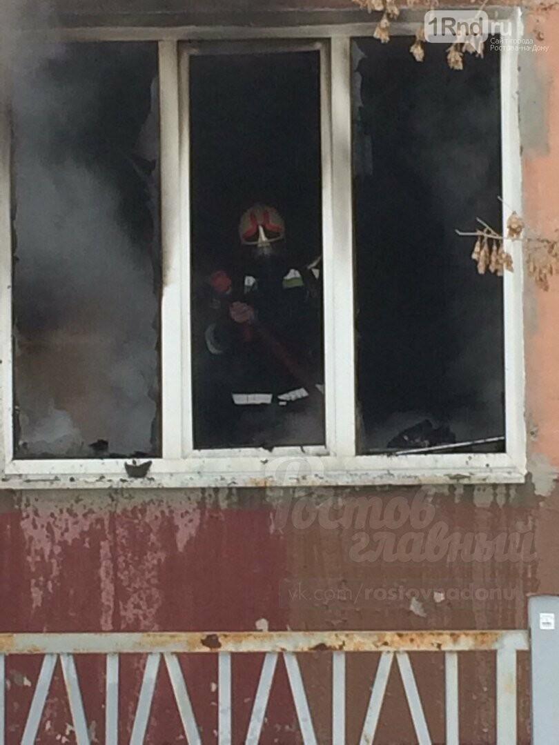 В Ростове из-за пожара в школе эвакуировали около 70 человек, фото-1