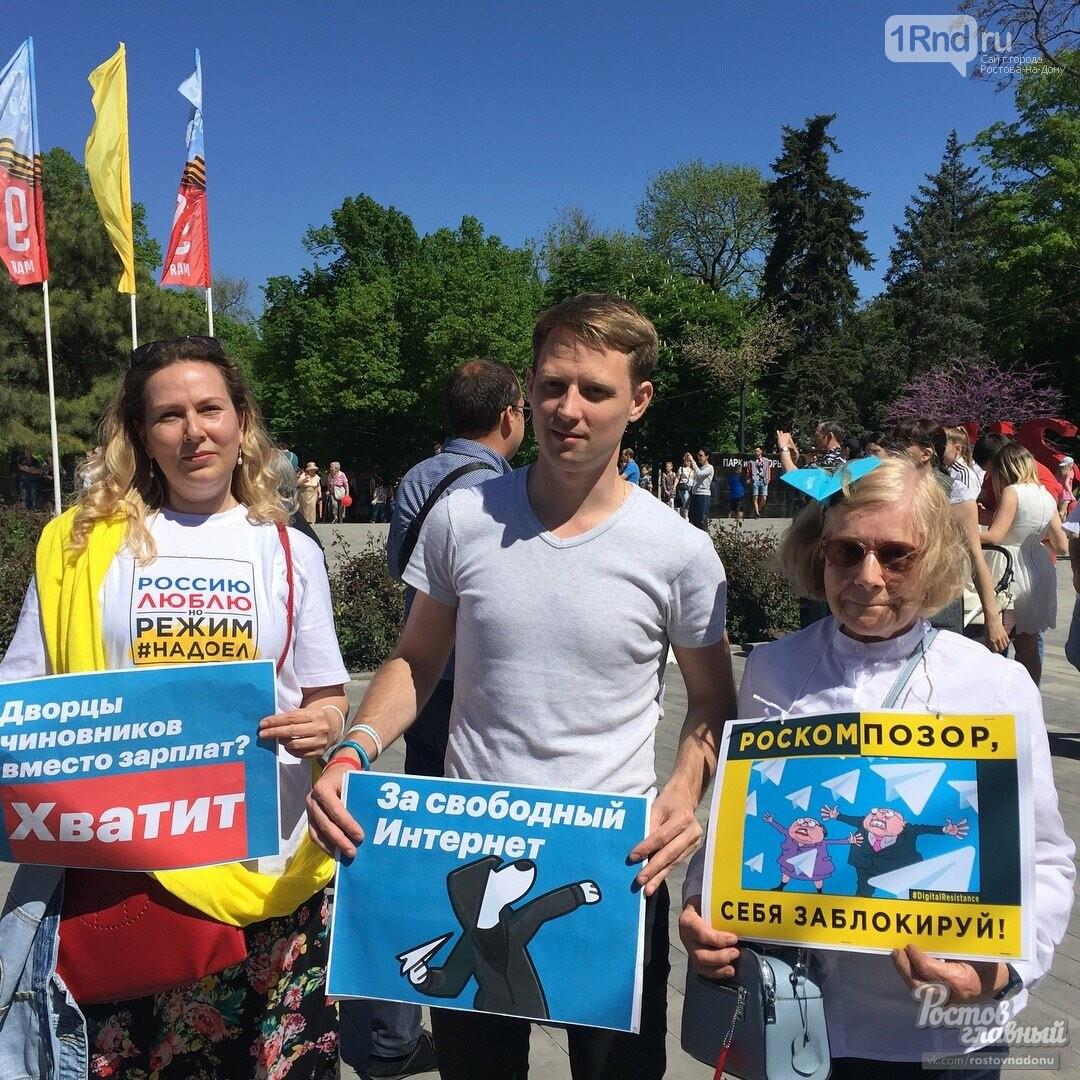Ростовчане присоединились к акции в защиту интернета, фото-3