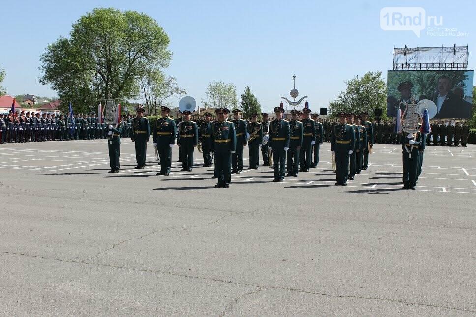 Ростовские студенты прошли парадным маршем перед ветеранами, фото-2