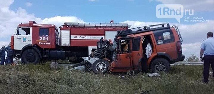 Три человека погибли в ДТП под Ростовом-на-Дону, фото-1