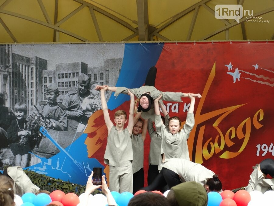 Ростовский полк ДПС ГИБДД провел праздничный гала-концерт «Дорога к Победе», фото-2