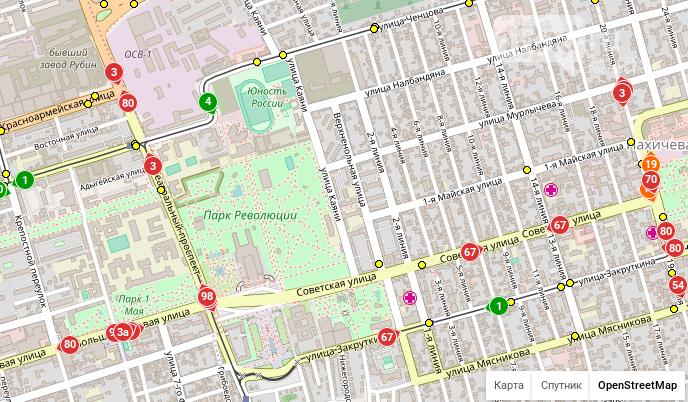 Водители автобусов игнорируют схему движения, придуманную чиновниками на время ЧМ в Ростове, фото-1