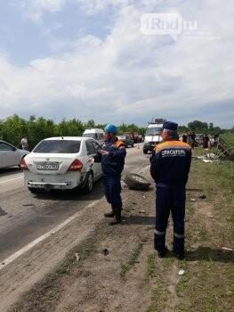На трассе в Ростовской области в ДТП погибли пять человек, фото-1