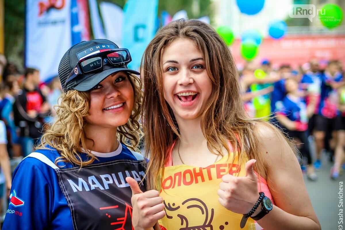 Вся страна в одном ритме: в Ростове и других городах прошел «ЗаБег», фото-2, Фото: Саша Савичева / 1rnd.ru