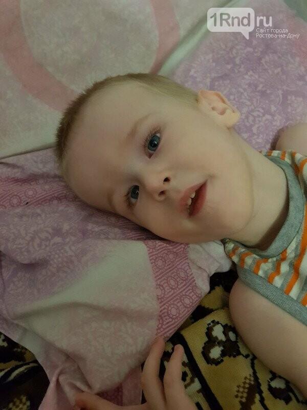 Русфонд: малышу из Ростовской области необходима реабилитация, фото-1