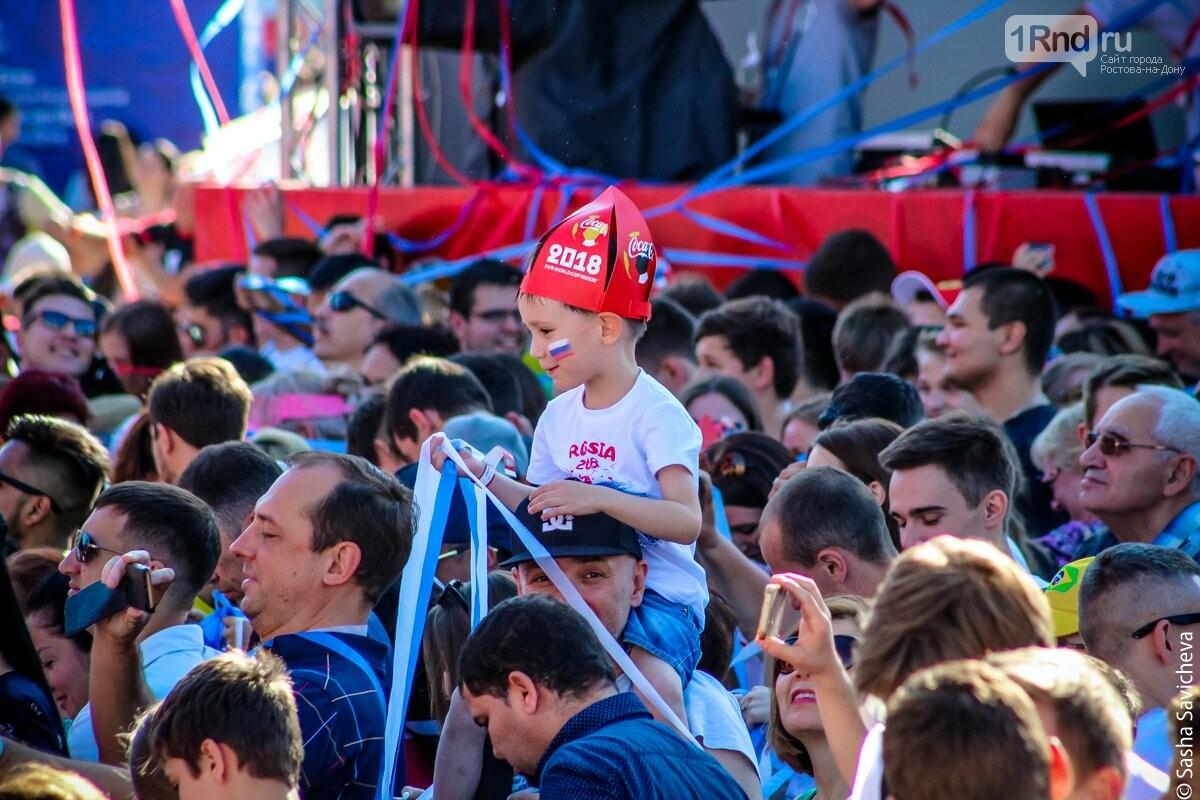 Фан-зона в Ростове: чем можно заняться в главном футбольном месте города, фото-11, Фото: Саша Савичева / 1rnd.ru