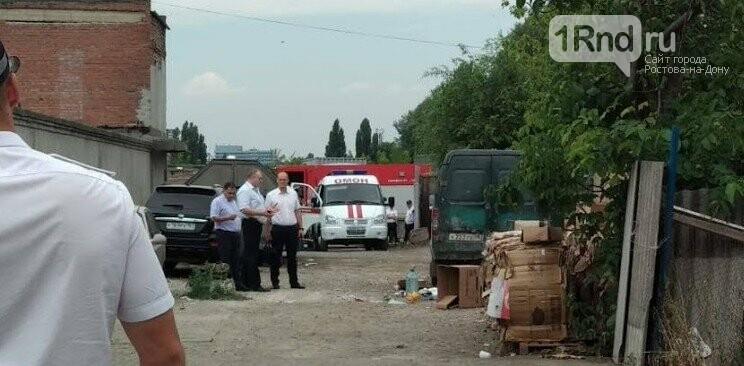 Два человека пострадали при взрыве на рынке в Ростове, фото-1