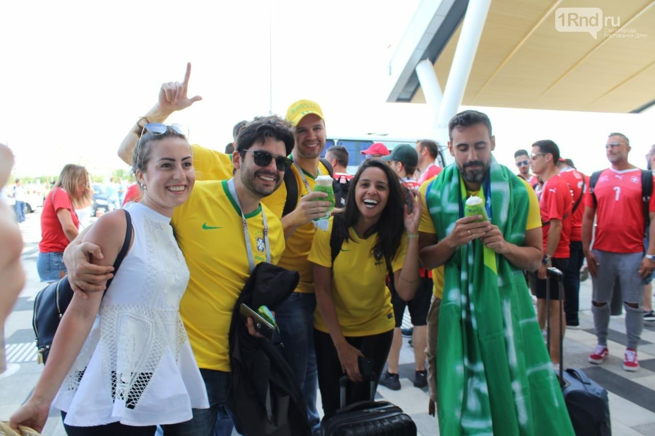 Ростовчан больше всего привлекли бразильцы, а исландцы запомнились песнями, фото-1