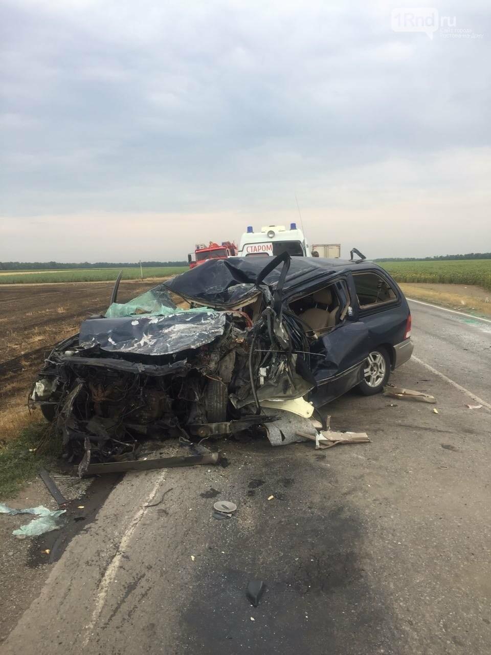 В ДТП на трассе Азов — Староминская погиб ребёнок, ещё трое ранены, фото-2