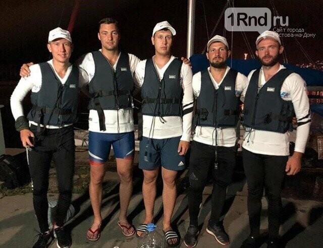 Донские спортсмены переплыли Черное море и установили два мировых рекорда, фото-1