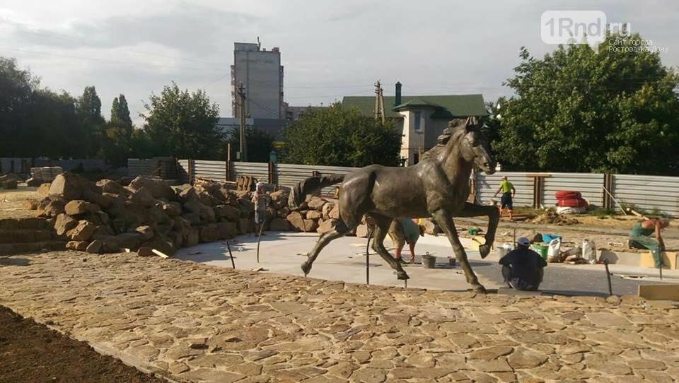 Фонтан со скачущими лошадьми украсит сквер в Аксае, фото-4