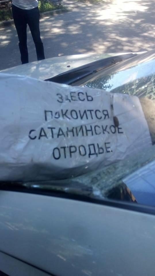 В Ростове неизвестные разбили автомобиль защитнице зеленых насаждений, фото-2