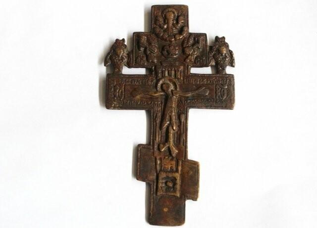Старинный старообрядческий крест пытался вывезти в Стамбул ростовчанин, фото-1