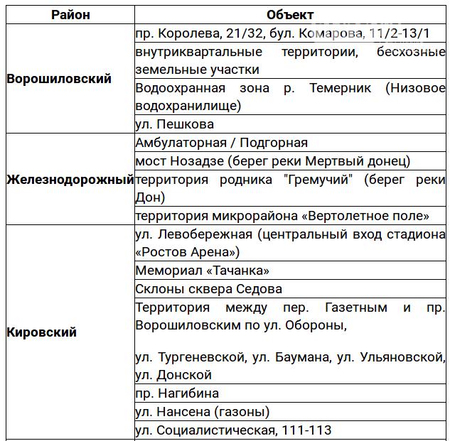 Общегородской субботник пройдет в Ростове 25 августа, фото-3