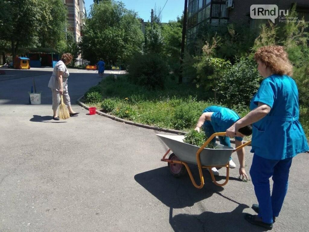Более 700 тонн мусора вывезли во время субботника в Ростове-на-Дону, фото-1, Фото: пресс-служба администрации Ростова-на-Дону