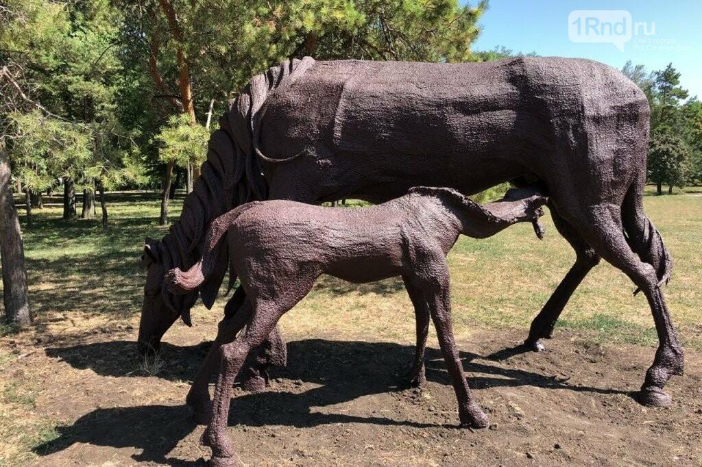 Реставрацию скульптур коней у старого аэропорта Ростова завершили досрочно, фото-2, Фото: администрация города