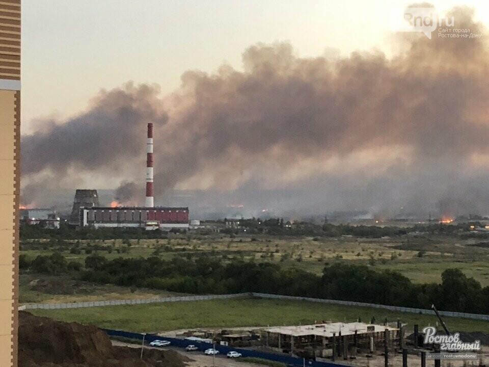 ВКумженской роще произошел пожар вРостове