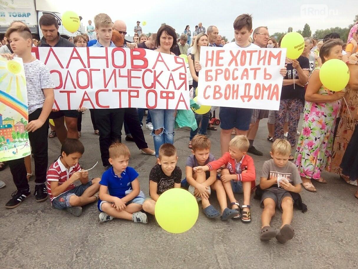 Около двух тысяч ростовчан вышли на митинг против мусороперерабатывающего завода в Левенцовке, фото-2