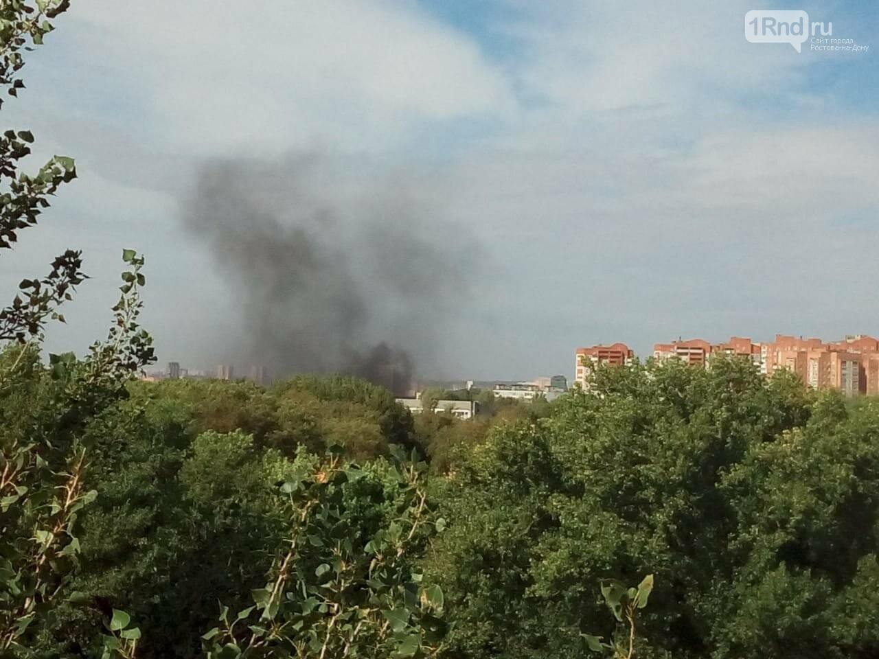 В Ростове на Сельмаше выгорело 50 кв метров мусора, фото-1