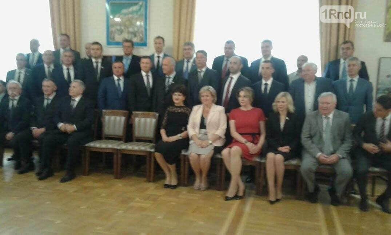 Первое заседание заксобрания Ростовской области началось с дискуссии об отмене пенсионной реформы, фото-1