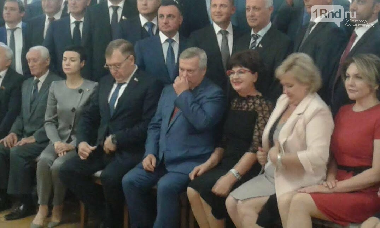 Первое заседание заксобрания Ростовской области началось с дискуссии об отмене пенсионной реформы, фото-3
