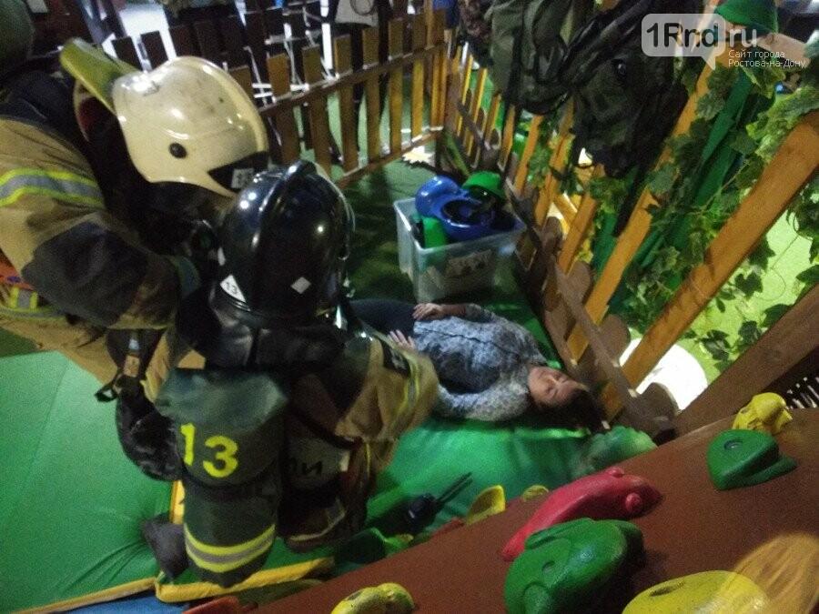 В Ростове эвакуировали покупателей и персонал ТЦ «Горизонт» из-за учебного пожара, фото-3