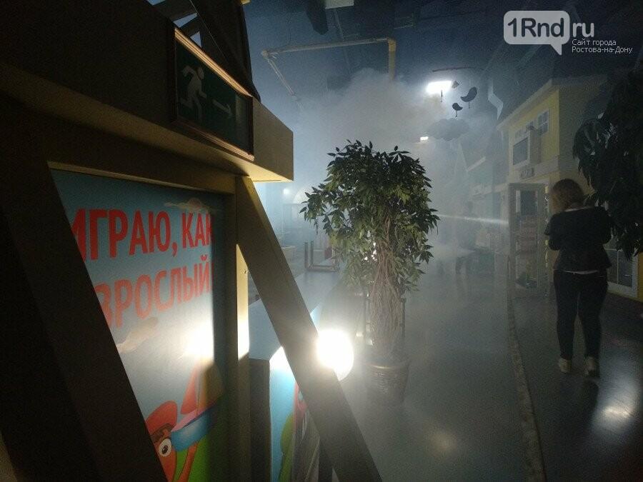 В Ростове эвакуировали покупателей и персонал ТЦ «Горизонт» из-за учебного пожара, фото-5