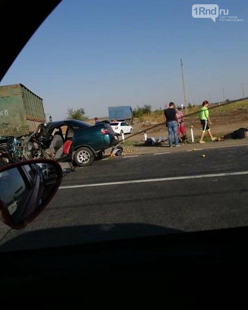 Смертельное ДТП произошло на донской трассе Батайск-Самарское, фото-2