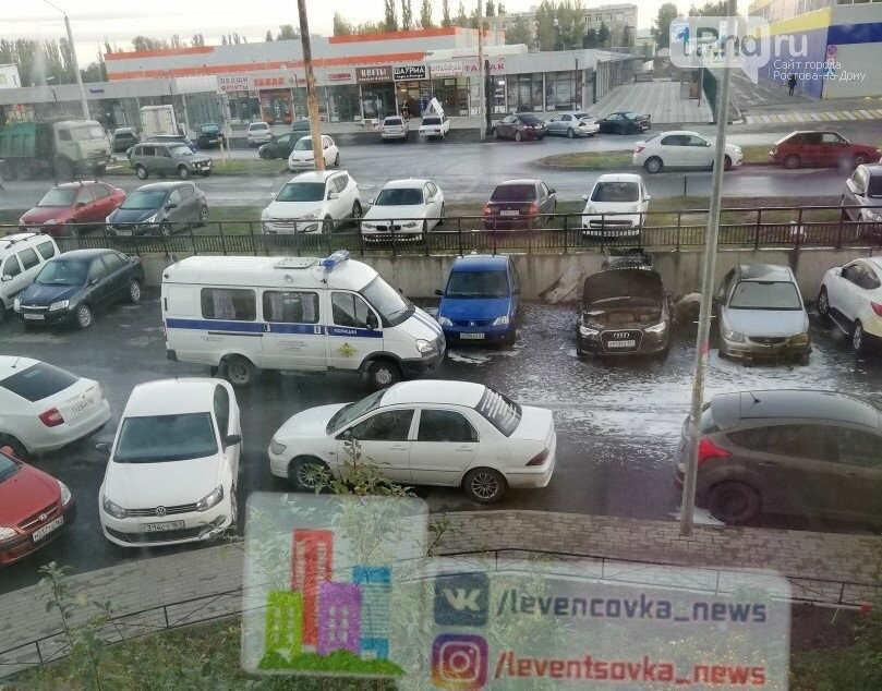 Несколько машин сожгли ночью на ЗЖМ Ростова, фото-1