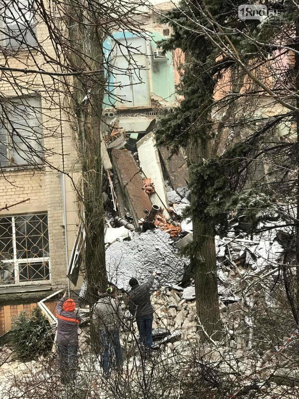 МЧС по Ростовской области: угрозы дальнейшего обрушения здания в Новочеркасске нет, фото-3