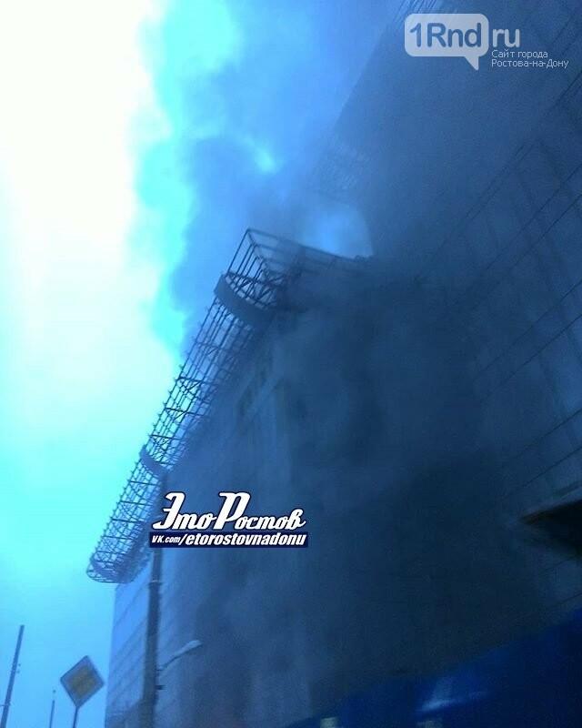 В Ростове загорелся недостроенный отель Sheraton, фото-4