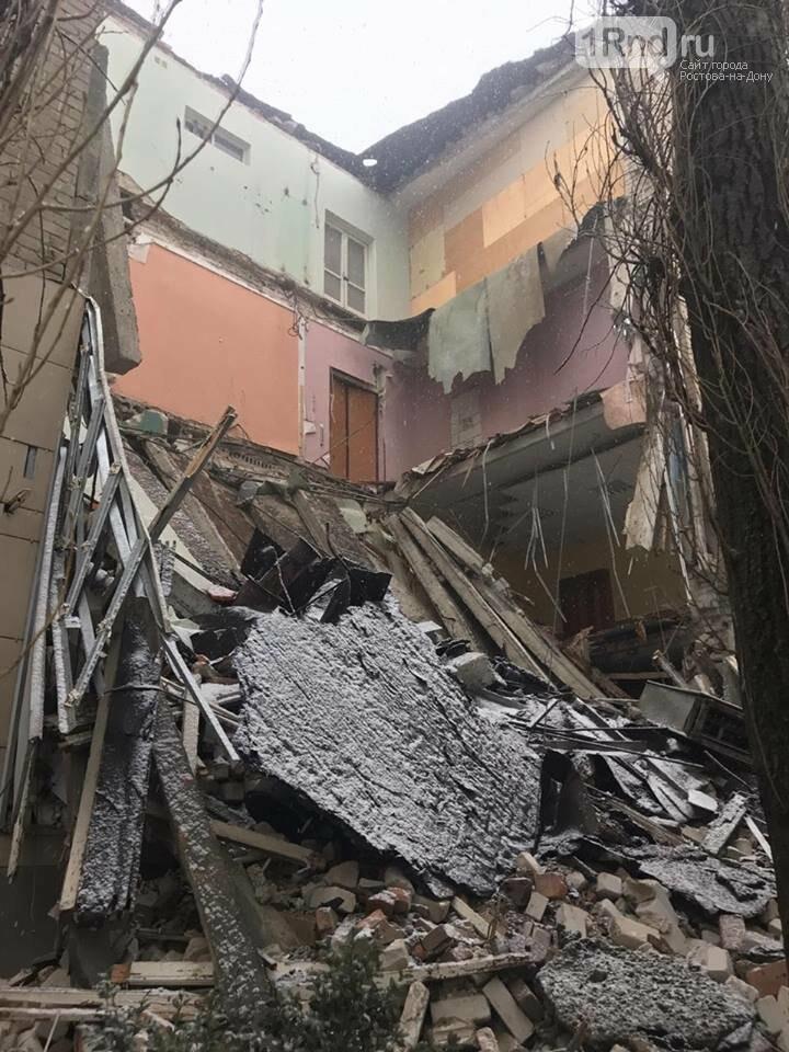 Обрушившееся здание в Новочеркасске признали пригодным для восстановления, фото-1